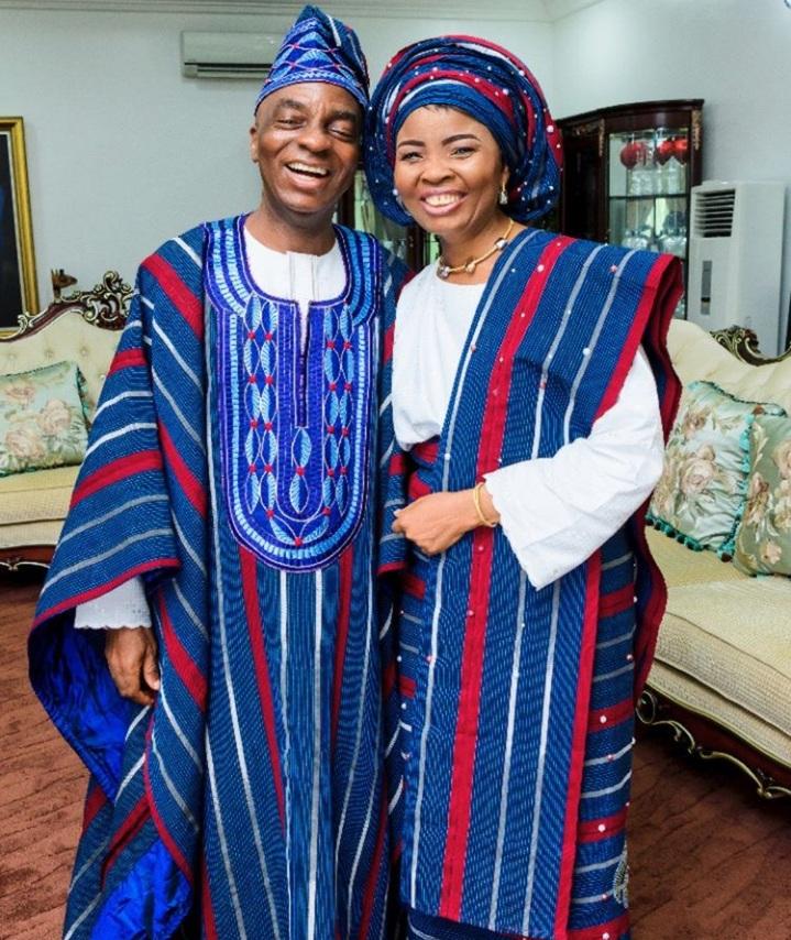 Bishop David Oyedepo & His Wife, Pastor Faith Oyedepo