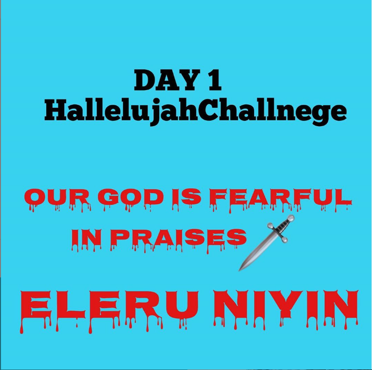 Day 1 Hallelujah Challenge