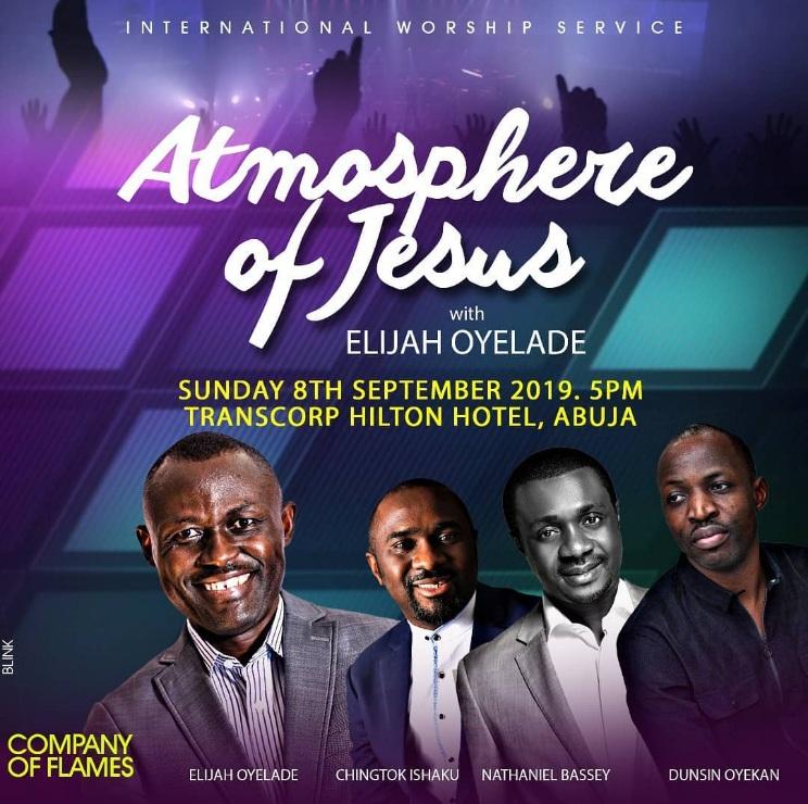 Elijah Oyelade (Atmosphere of Jesus) 2019