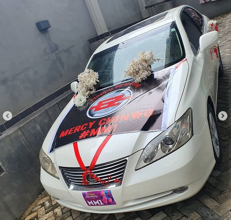 Mercy Chinwo Received New Car 1