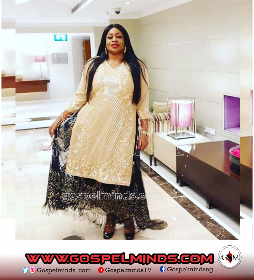 Sinach Indian outfit