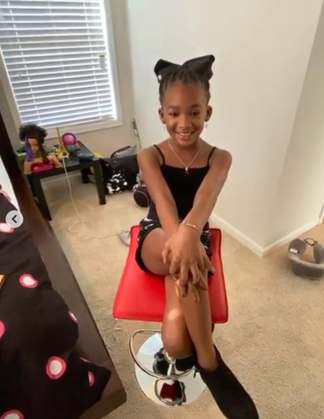Tasha Cobbs Leonard Daughter 1