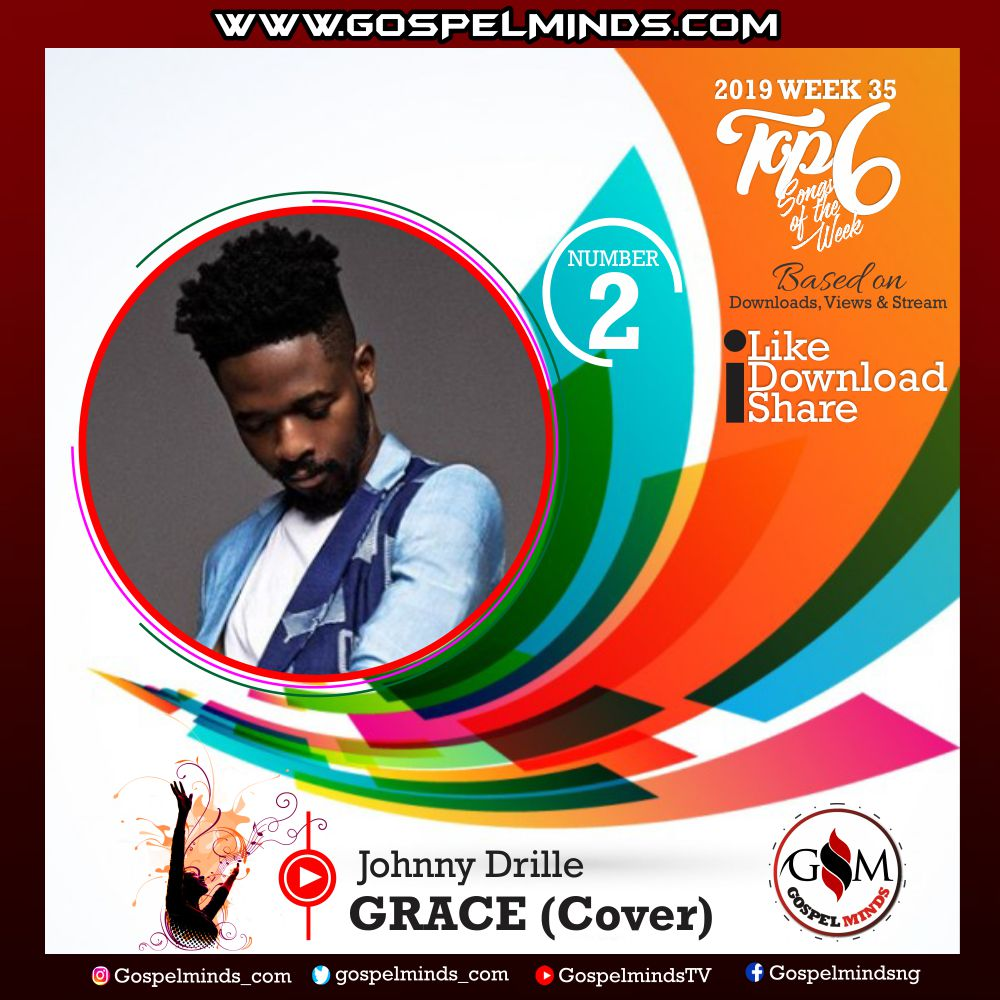 Top 6 Gospel Songs of The Week 2019 WK-35 (Johnny Drille – Grace)