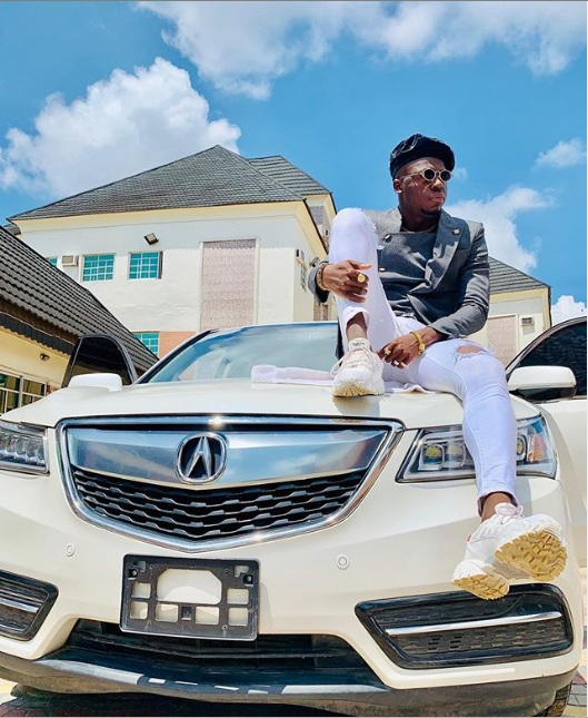 Comedian Akpororo new car 2