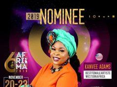 Kanvee Adams, Best Female Artiste In Western Africa Afrima Awards
