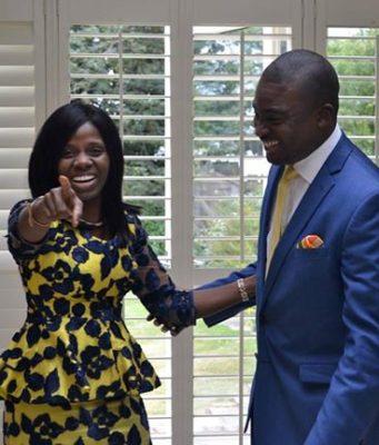 Kemi and David Oyedepo Jnr