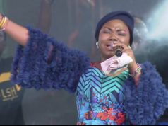 Mercy Chinwo with her Angelic voice