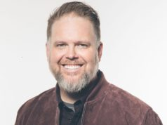 MercyMe Bart Millard Receives GMA Dove Award For Songwriter Of The Year