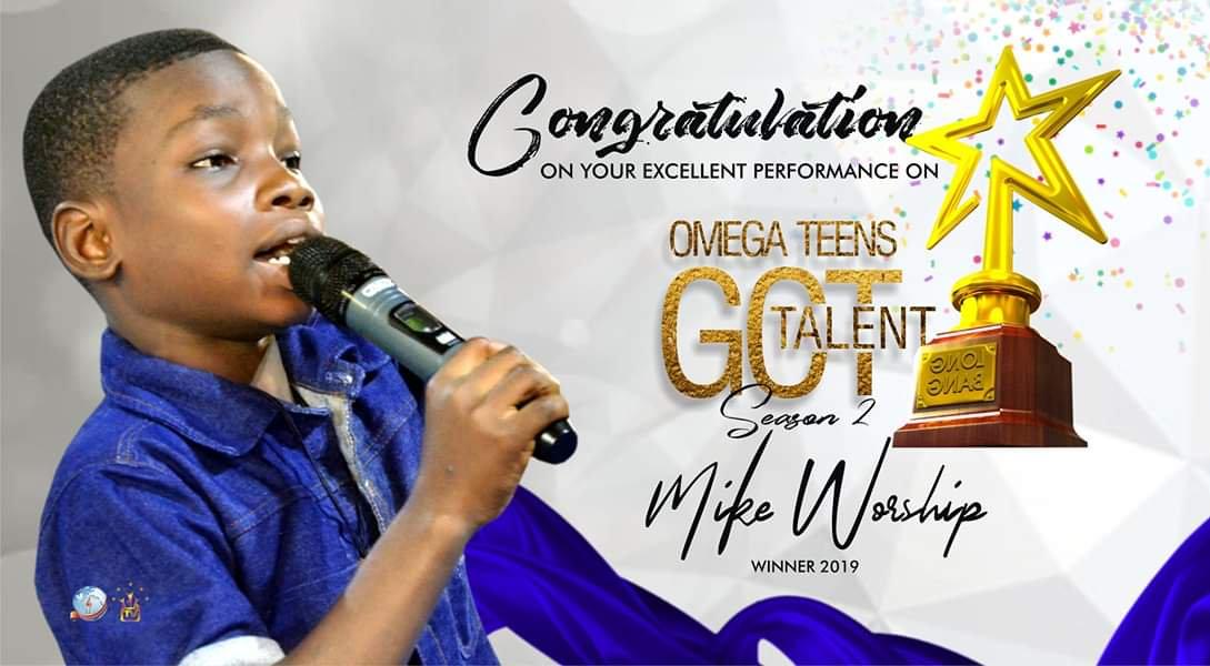 Mike Worship - Winner Of The Teens Got Talent Show 2019