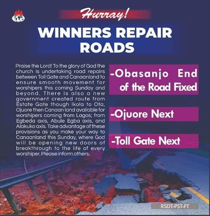 Repair of Ogun State Roads