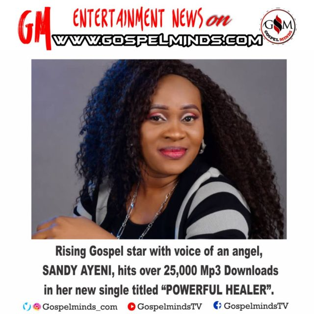 Rising gospel Music Minister Sandy Ayeni