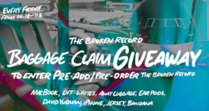 The Broken Record Baggage Claim Giveaway