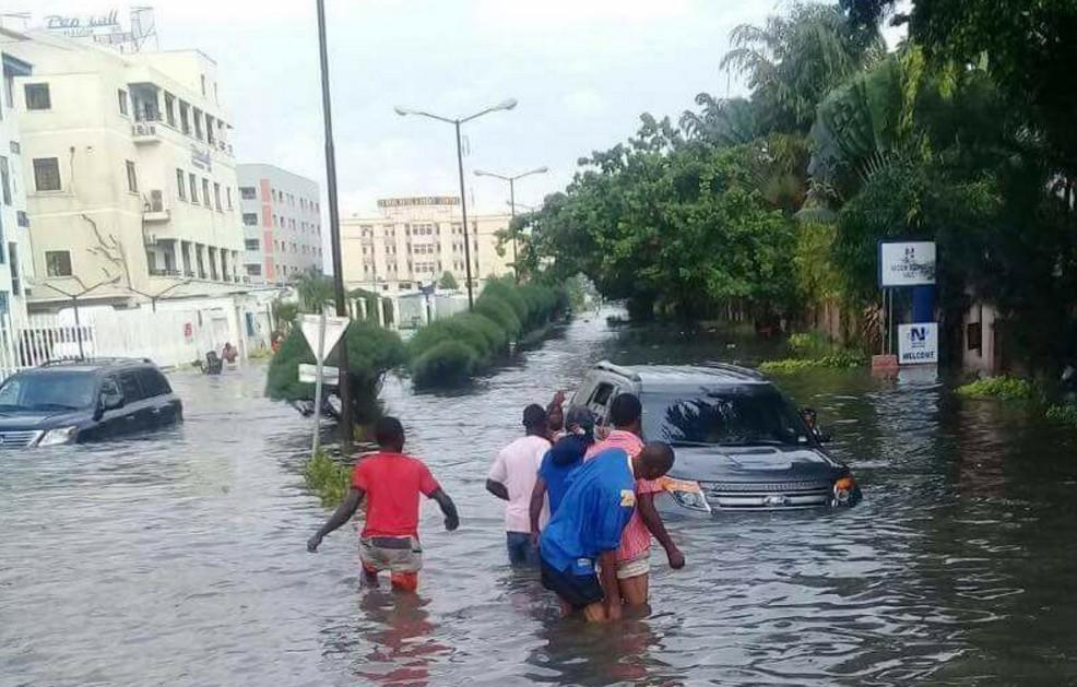 Welcome To Lekki Lagos flood