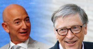 Bill Gates and Jeff Bezos