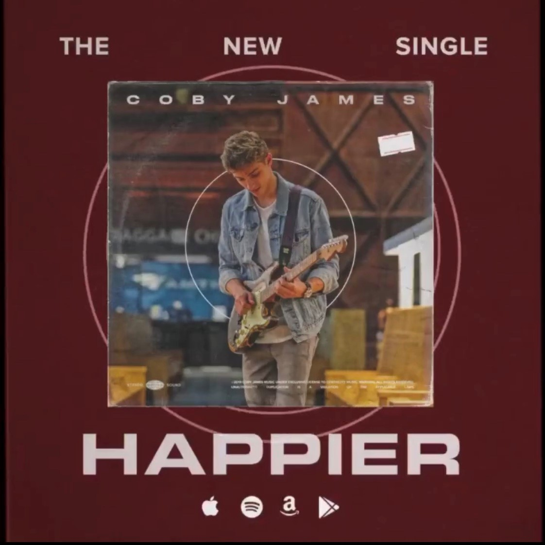 Coby James - Happier