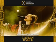 Lauren Daigle To Sing National Anthem