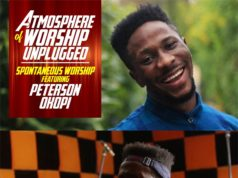 Spontaneous Worship By Peterson Okopi At AOW Unplugged