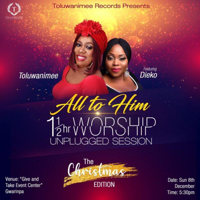 Toluwanimee bi-Monthly Unplugged worship session
