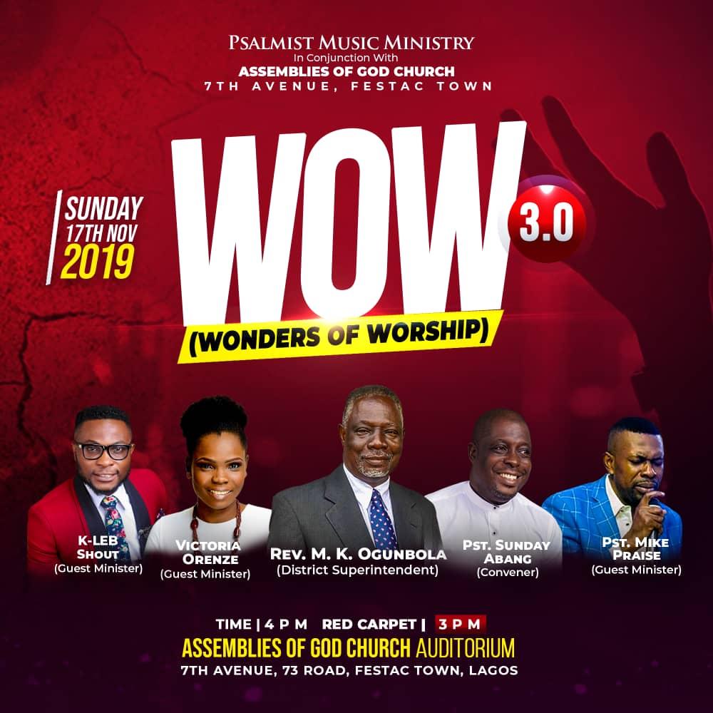 Victoria Orenze Headlines Wonders Of Worship 2019