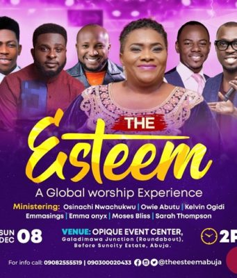 Frank Edwards and others set for The Esteem 2019 in Abuja