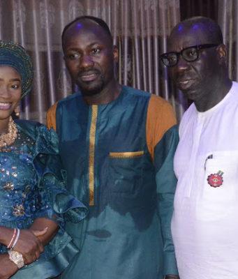Godwin Obaseki visits Apostle Suleman of Omega Fire Ministries