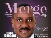 Pastor Ituah Ighodalo Cover 4th Edition of Merge Magazine