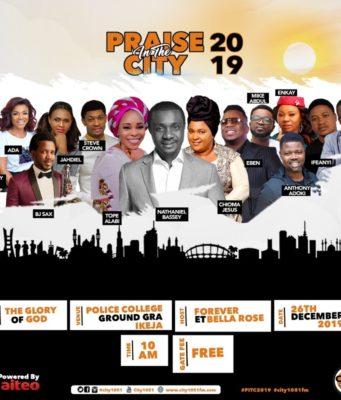 Praise In The City 2019 At Ikeja Lagos