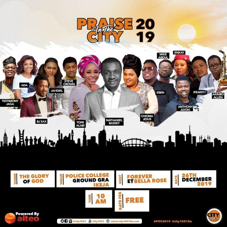 Event In Ikeja Lagos: Praise In The City 2019 – #Pitc2019