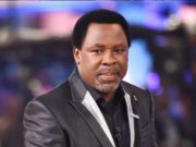 Prophet TB Joshua at the Prayer Mountain