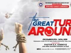 RCCG Holy Ghost Congress 2019