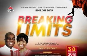 SHILOH 2019 - Breaking Limits - Encounter Night