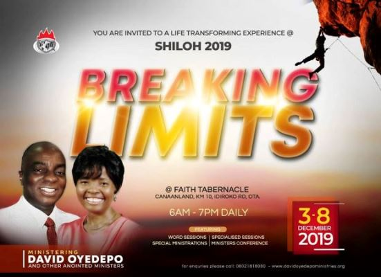 SHILOH 2019 - Breaking Limits - Encounter Night