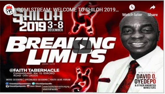 SHILOH 2019 Opening Session - Breaking Limits