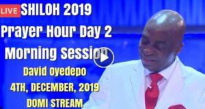 Shiloh 2019 Prayer Hour Day 2 Morning Session