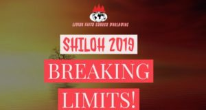 Shiloh 2019 Mp3 Messages - Breaking Limits Audio