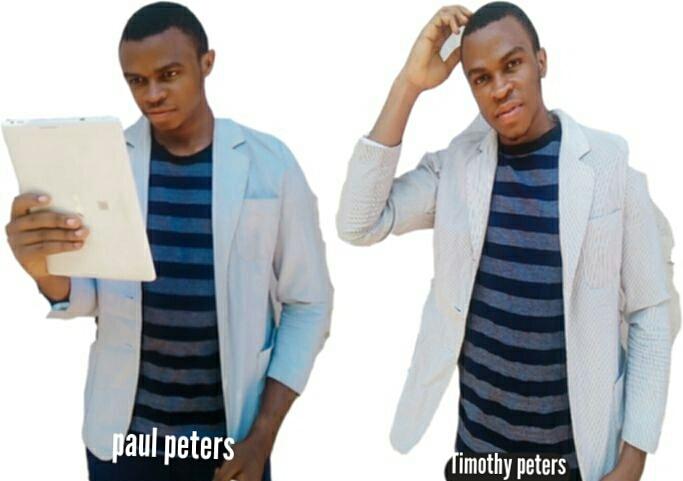 Timothy and Paul Peters - Mortal man