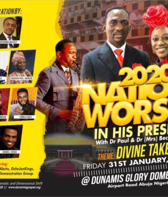 Dunamis International Gospel Centre to host William McDowell