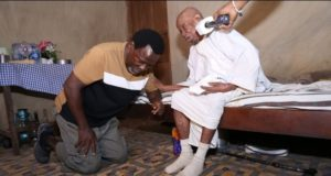 TB Joshua Pays Visit To The Oldest People 150-Year-Olds In A Community