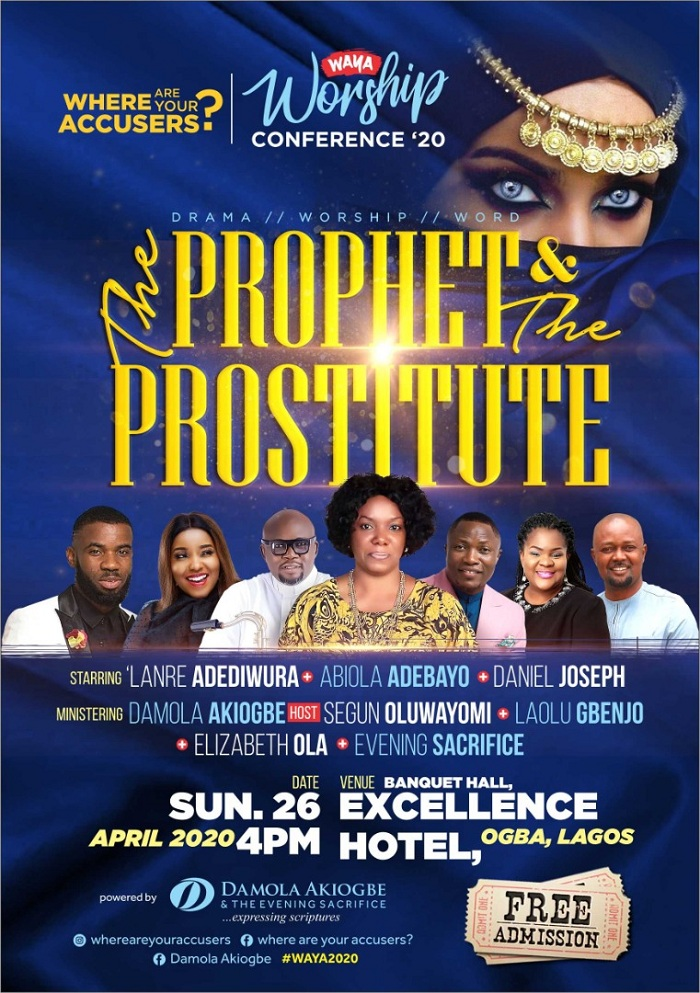 Damola Akiogbe hosts The Prophet & The Prostitute