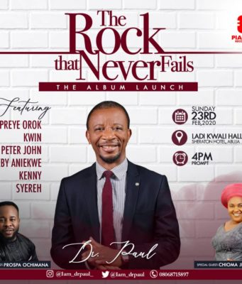 Event Dr Paul Live In Concert ''The Rock That Never Fails' Album unveiling