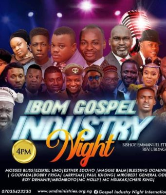 Ibom Gospel Industry Night Debuts on 16th February