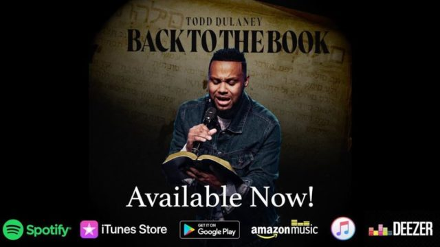 Todd Dulaney - Back to the Book EP