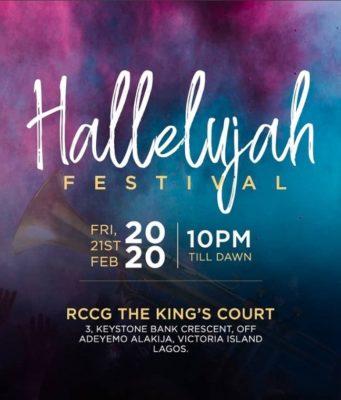 Watch Hallelujah Festival 2020 LIVE Unlimited Praise - Nathaniel Bassey