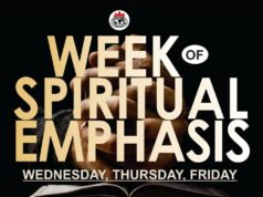 Week Of Spiritual Emphasis