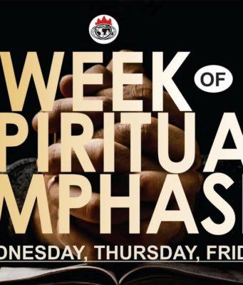 Week Of Spiritual Emphasis