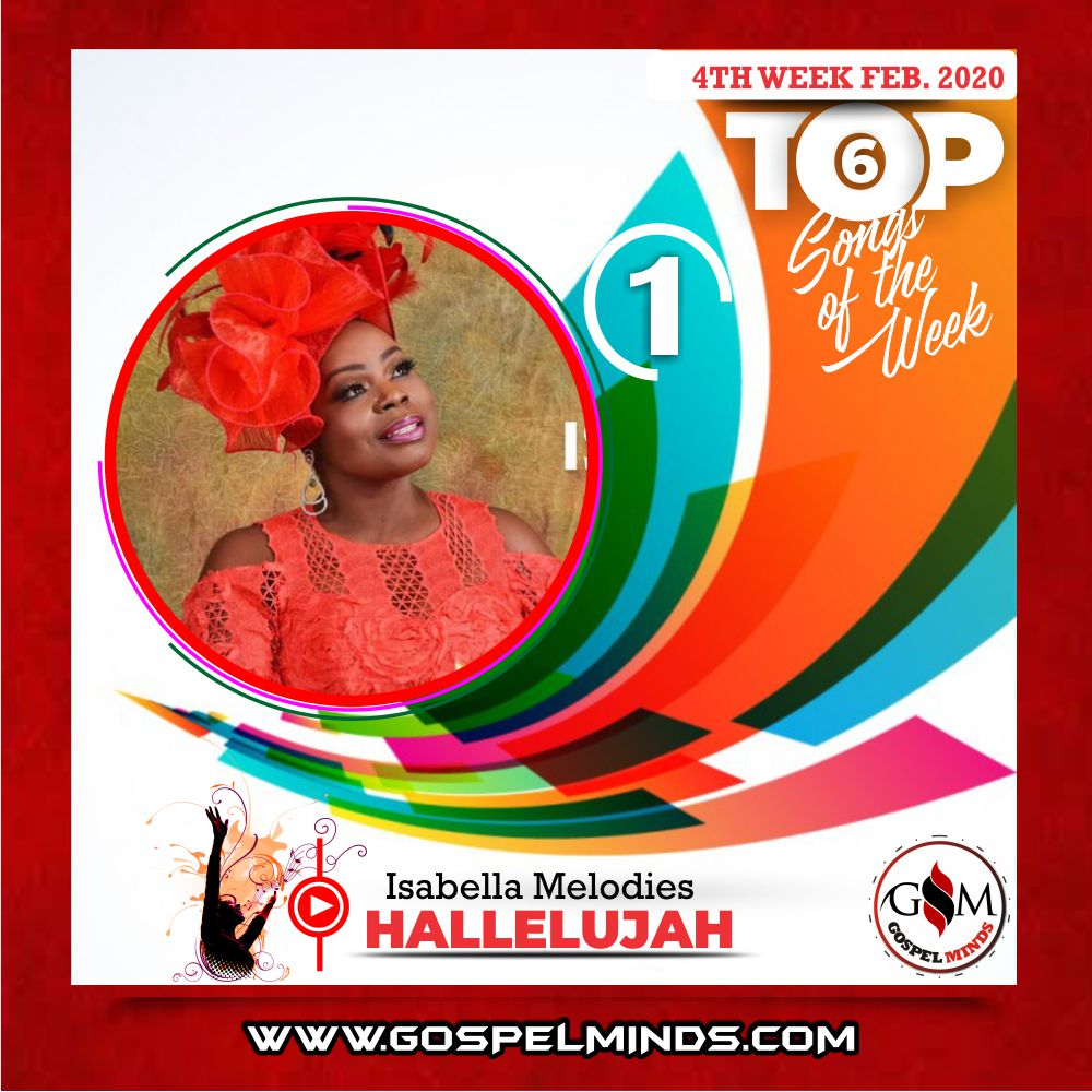 February 4th Week 'Top 6 Gospel Songs Of The Week' Isabella Melodies – Hallelujah