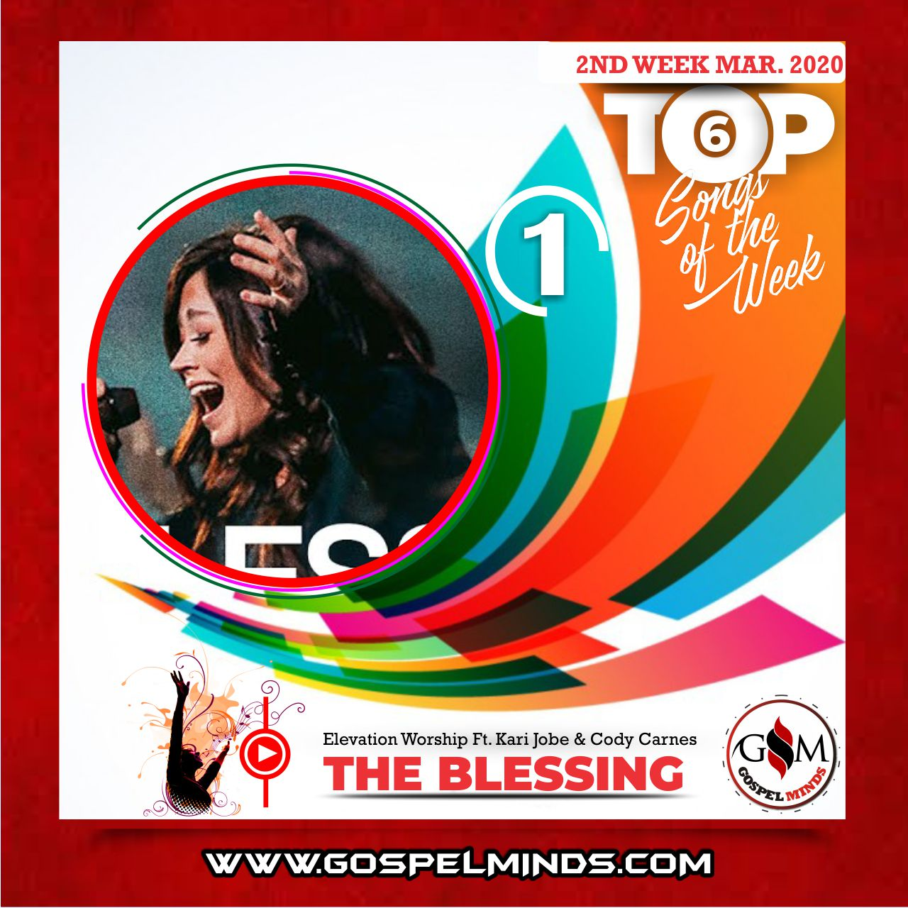 March 2nd Week 'Top 6 Gospel Songs Of The Week' Elevation Worship - The Blessing Ft. Kari Jobe & Cody Carnes