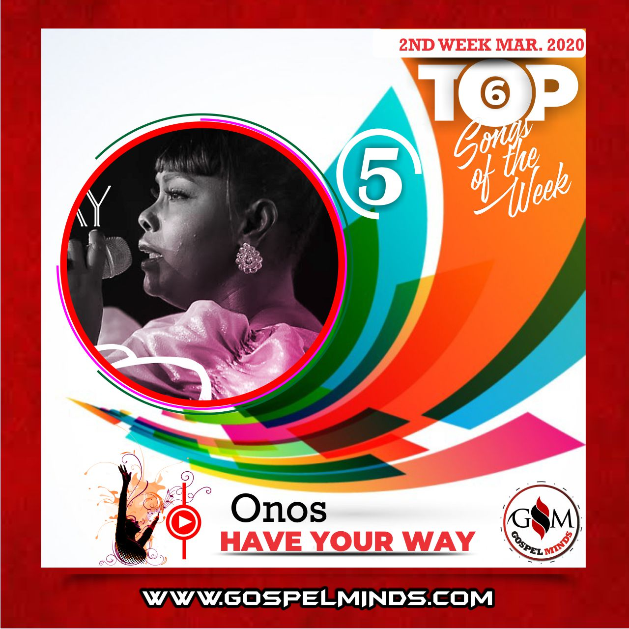 March 2nd Week 'Top 6 Gospel Songs Of The Week' Onos – Have Your Way