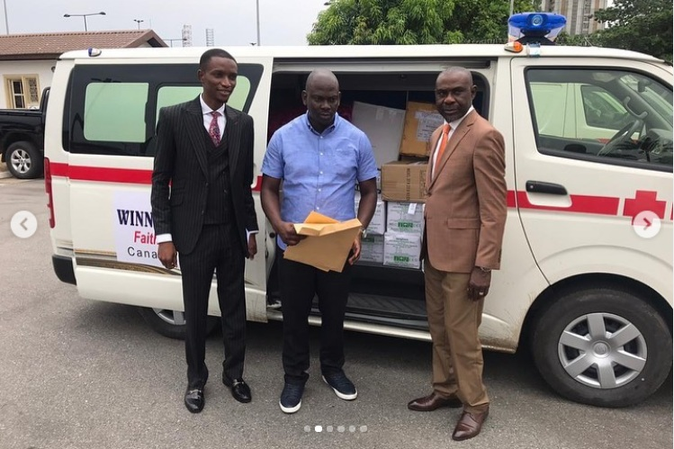 COVID-19 Bishop Oyedepo Donates Medical Equipment 5