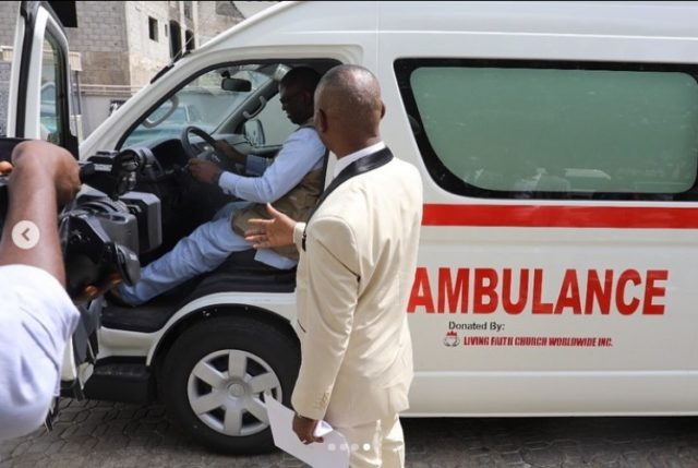 COVID-19 Bishop Oyedepo Donates Medical Equipment